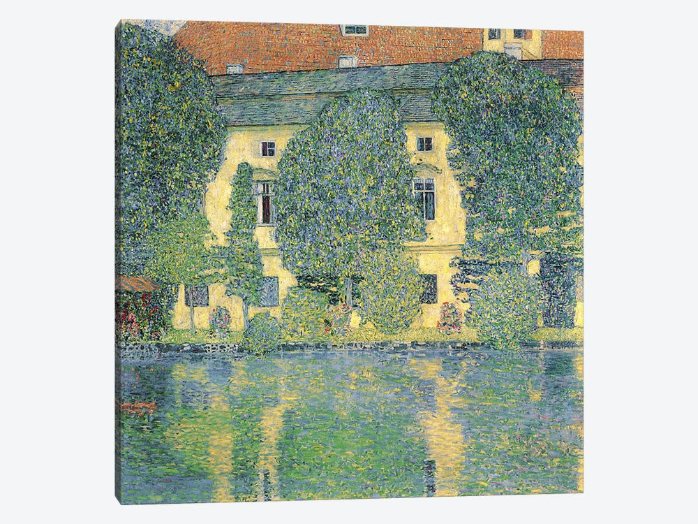 The Schlosskammer on the Attersee III, 1910  by Gustav Klimt 1-piece Canvas Artwork