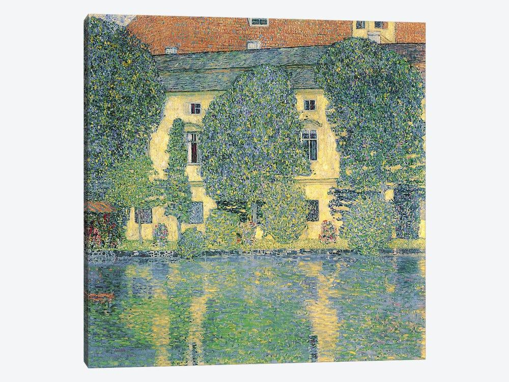 Schloss Kammer am Attersee III, 1910  by Gustav Klimt 1-piece Canvas Artwork