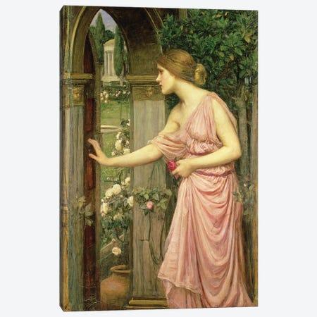 Psyche entering Cupid's Garden, 1903  Canvas Print #BMN10860} by John William Waterhouse Canvas Print
