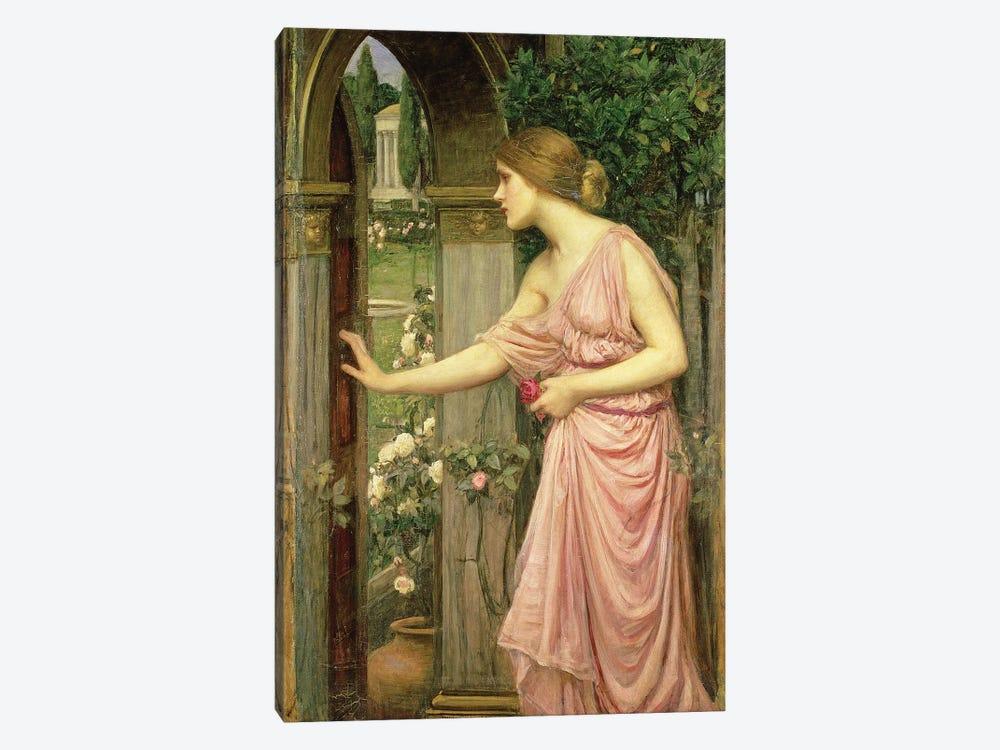 Psyche entering Cupid's Garden, 1903  by John William Waterhouse 1-piece Canvas Print