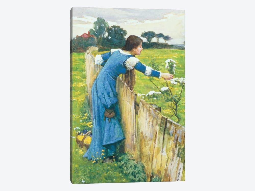 Spring by John William Waterhouse 1-piece Canvas Wall Art
