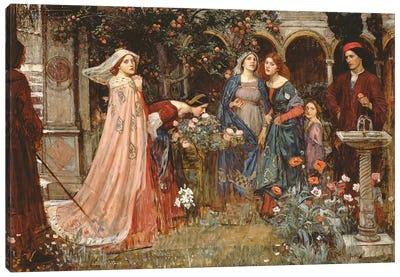 The Enchanted Garden, c.1916-17  Canvas Art Print