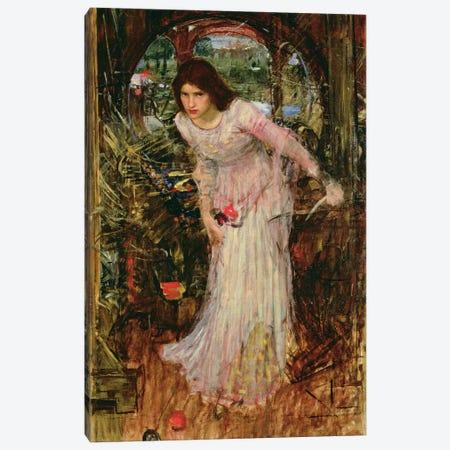 The Lady of Shalott, c.1894  Canvas Print #BMN10864} by John William Waterhouse Canvas Artwork