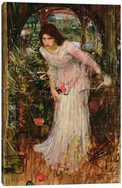 The Lady of Shalott, c.1894  Canvas Art Print