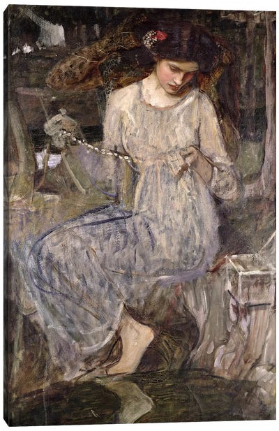 The Necklace, c.1909  Canvas Art Print