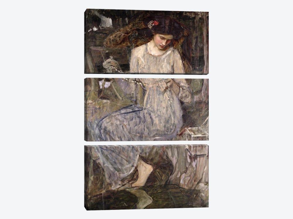 The Necklace, c.1909  by John William Waterhouse 3-piece Art Print
