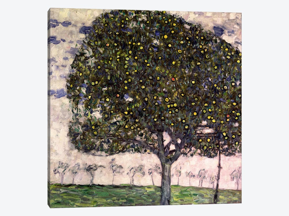 The Apple Tree II, 1916 by Gustav Klimt 1-piece Canvas Print