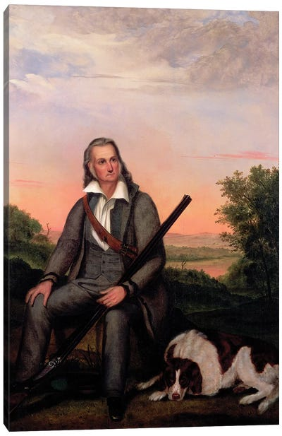 Portrait of John James Audubon  c.1840-41  Canvas Art Print