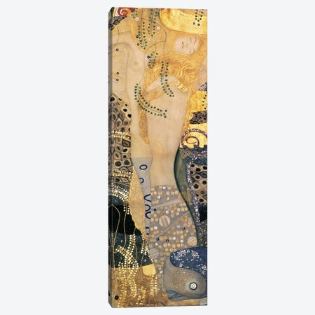 Water Serpents I, 1904-07 Canvas Print #BMN1087} by Gustav Klimt Canvas Art Print