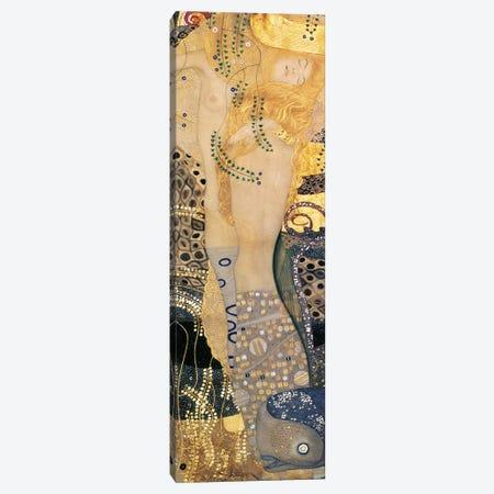 Water Serpents I, 1904-07 Canvas Print #BMN1087} by Gustav Klimt Canvas Art Print