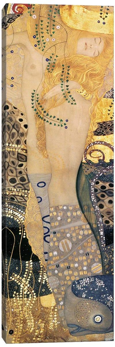 Water Serpents I, 1904-07 Canvas Art Print