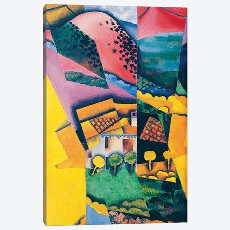 Landscape at Ceret, 1913  Canvas Print #BMN10885} by Juan Gris Canvas Wall Art