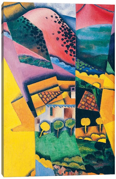 Landscape at Ceret, 1913  Canvas Art Print