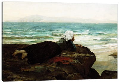 Looking out to Sea,  Canvas Art Print
