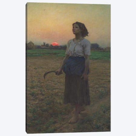 The Song of the Lark, 1884  Canvas Print #BMN10889} by Jules Breton Art Print
