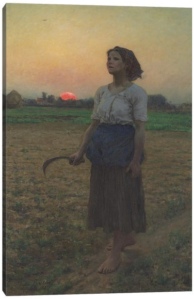 The Song of the Lark, 1884  Canvas Art Print