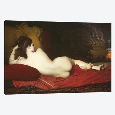 Odalisque, 1874  Canvas Print #BMN10892} by Jules Joseph Lefebvre Canvas Art