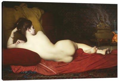 Odalisque, 1874  Canvas Art Print