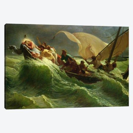 Christ Asleep in his Boat  Canvas Print #BMN10893} by Jules Joseph Meynier Canvas Artwork