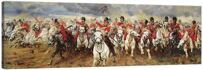 Scotland For Ever! 1881  Canvas Art Print
