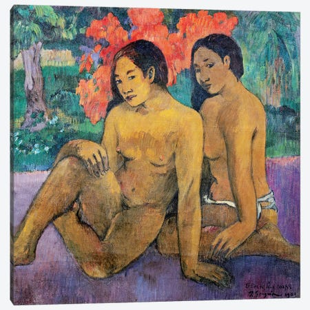And the Gold of their Bodies, 1901  Canvas Print #BMN10903} by Paul Gauguin Canvas Wall Art