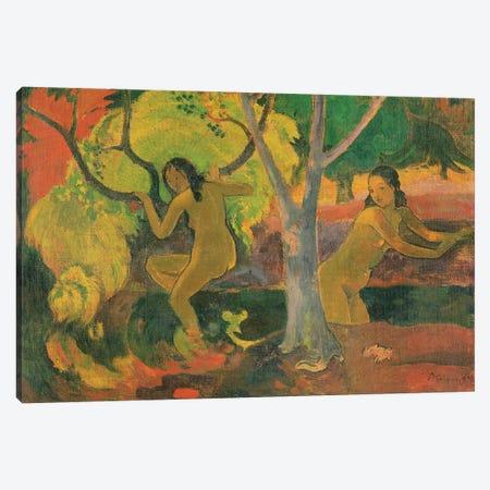 Bathers at Tahiti, 1897  Canvas Print #BMN10905} by Paul Gauguin Canvas Art Print