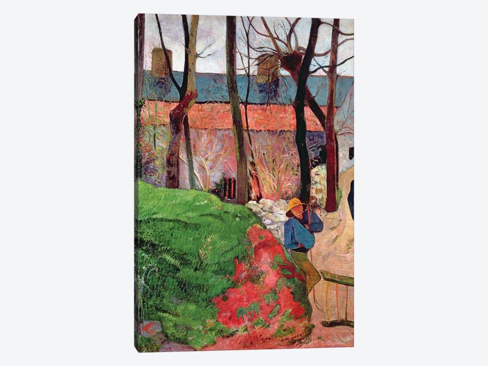 Cottage at Le Pouldu, 1890  by Paul Gauguin 1-piece Canvas Art
