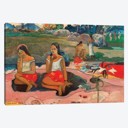 Nave nave moe Canvas Print #BMN10916} by Paul Gauguin Canvas Art