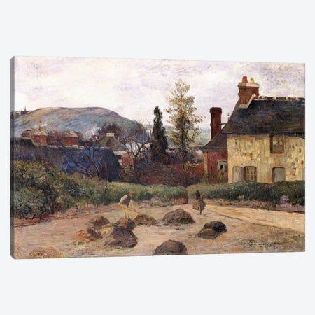 Return from the Harvest, 1884  Canvas Print #BMN10918} by Paul Gauguin Canvas Art Print