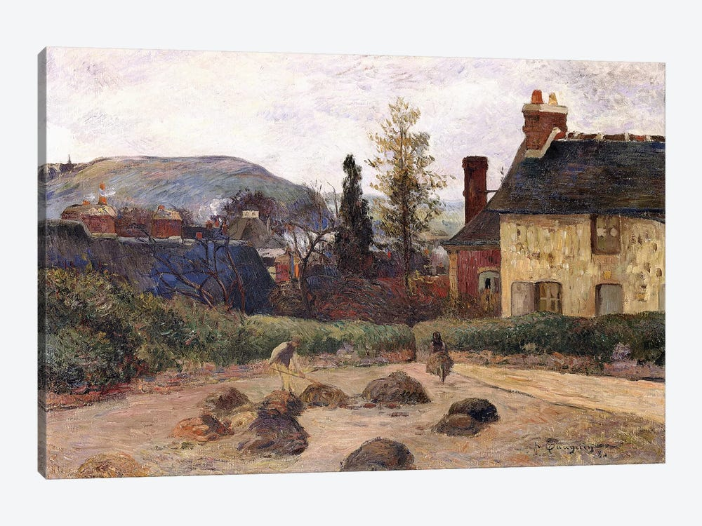 Return from the Harvest, 1884  by Paul Gauguin 1-piece Art Print