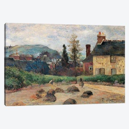 Return from the Harvest, 1884  Canvas Print #BMN10919} by Paul Gauguin Canvas Art Print