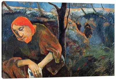 The Agony in the Garden of Olives, 1889  Canvas Art Print