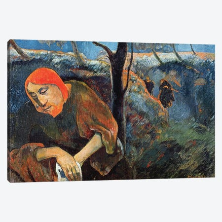 The Agony in the Garden of Olives, 1889  Canvas Print #BMN10925} by Paul Gauguin Art Print