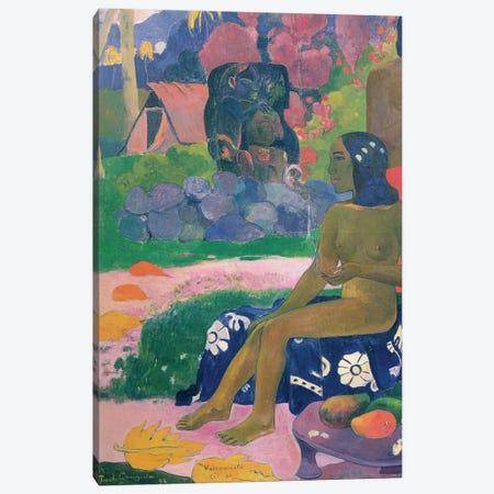 Vairaumati Tei Oa , 1892  Canvas Print #BMN10929} by Paul Gauguin Canvas Art