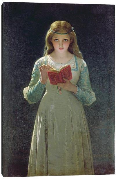 The Reader  Canvas Art Print