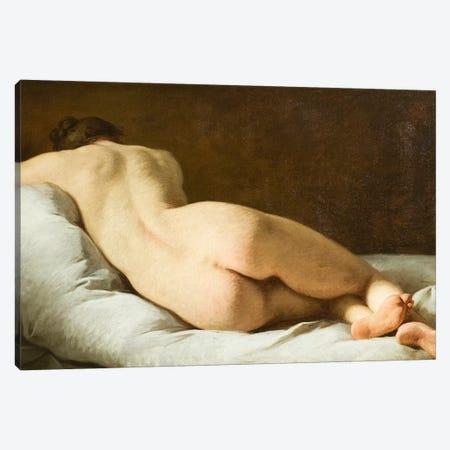Female nude  Canvas Print #BMN10933} by Pierre Subleyras Art Print