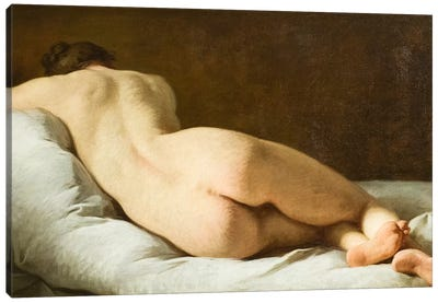 Female nude  Canvas Art Print