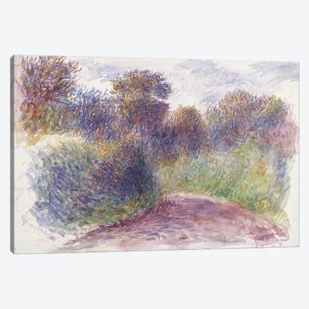 Country Lane  Canvas Print #BMN10937} by Pierre-Auguste Renoir Canvas Artwork