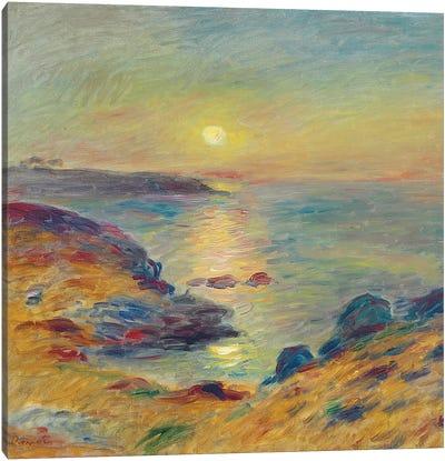 Sunset at Douarnenez, c. 1883  Canvas Art Print