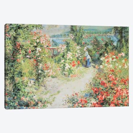 The Conservatory Canvas Print #BMN10951} by Pierre-Auguste Renoir Canvas Art Print