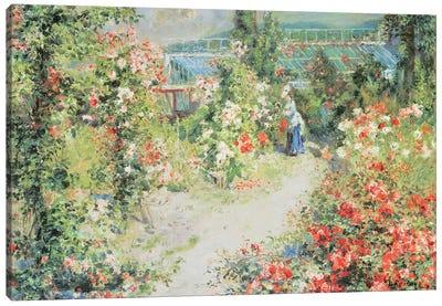 The Conservatory Canvas Art Print