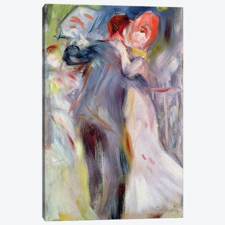 The Dance in the Country, c.1882-3  Canvas Print #BMN10953} by Pierre-Auguste Renoir Art Print