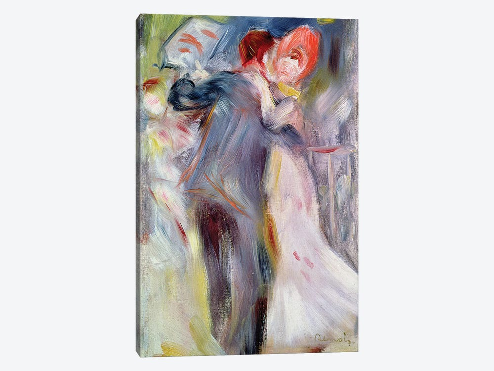 The Dance in the Country, c.1882-3  by Pierre-Auguste Renoir 1-piece Canvas Art