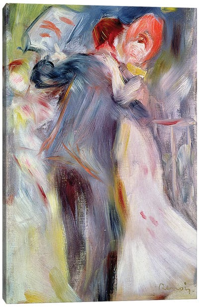 The Dance in the Country, c.1882-3  Canvas Art Print
