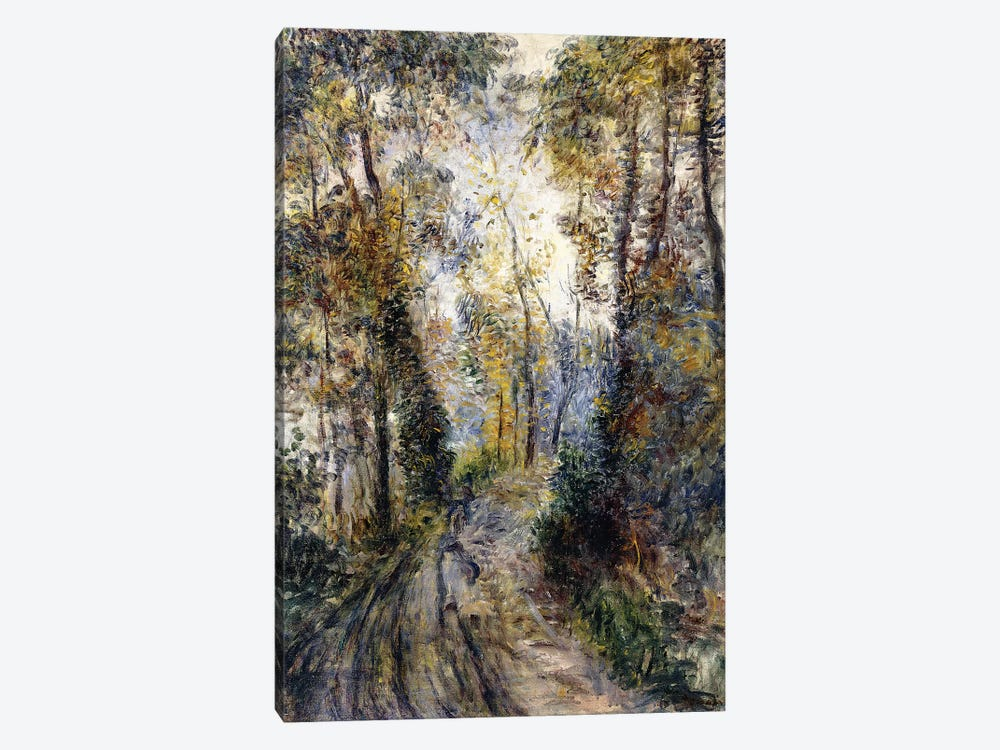 The Forest Path, 1871  by Pierre-Auguste Renoir 1-piece Art Print