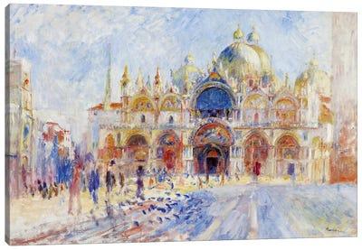 The Piazza San Marco, Venice, 1881  Canvas Art Print