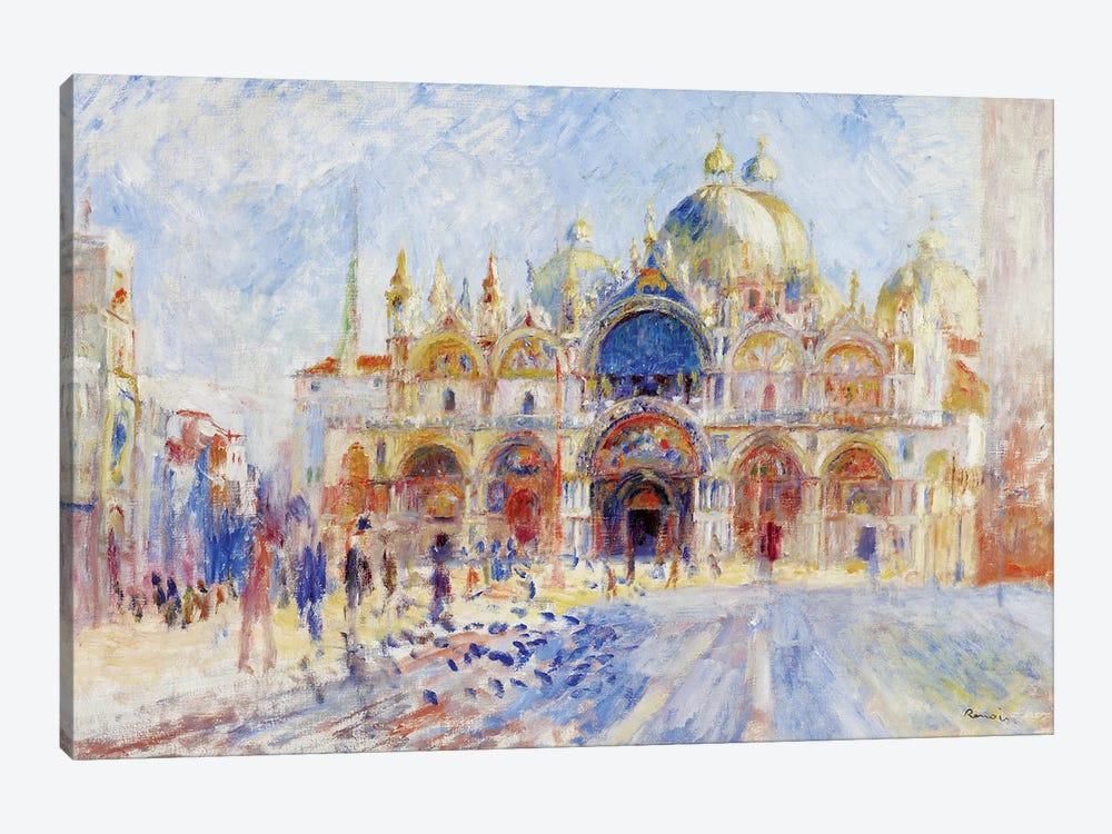 The Piazza San Marco, Venice, 1881  by Pierre-Auguste Renoir 1-piece Canvas Art