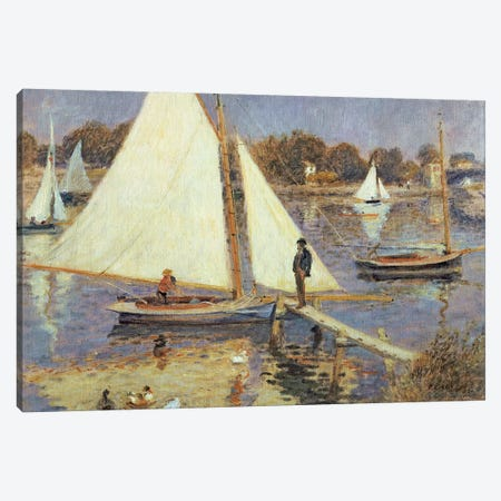 The Seine at Argenteuil, 1874  Canvas Print #BMN10959} by Pierre-Auguste Renoir Canvas Art Print