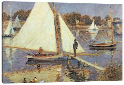 The Seine at Argenteuil, 1874  Canvas Art Print