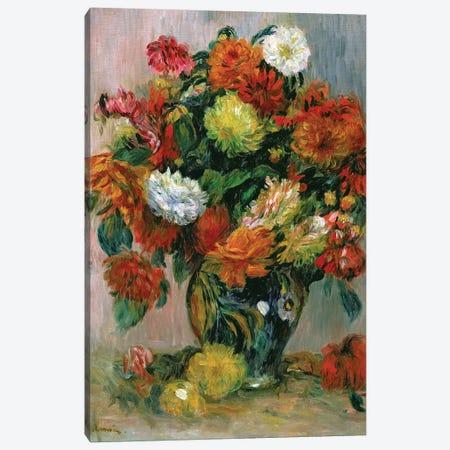 Vase of Flowers, c.1884  Canvas Print #BMN10966} by Pierre-Auguste Renoir Canvas Print